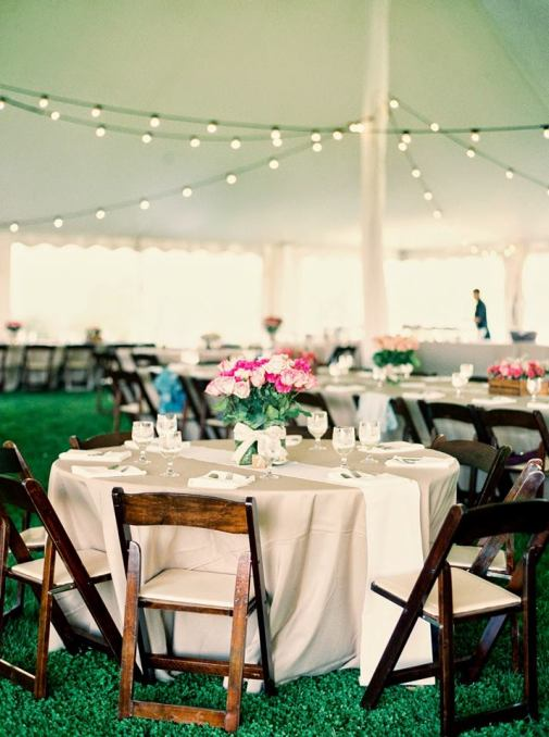 Dover Rent All tables and Chairs tent