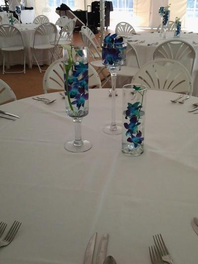 Twisted Vine table center pieces