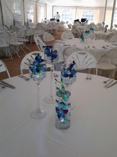 Twisted Vine table decor