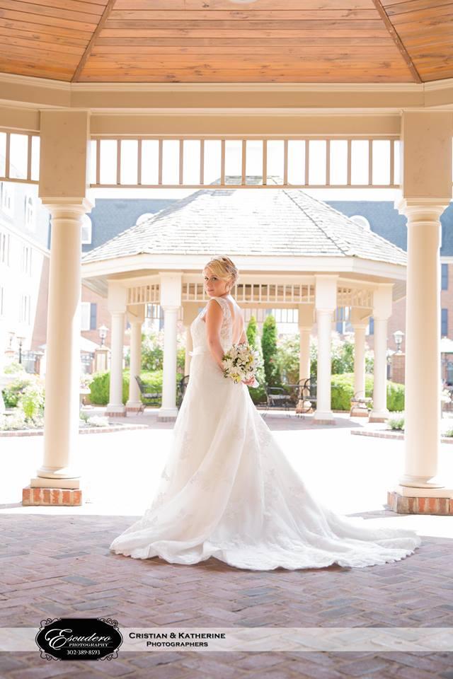 Escudero Hilton Christiana bride gazebo
