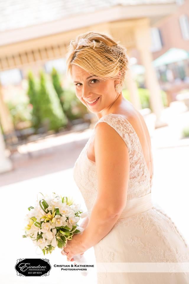 Escudero Hilton Christiana bride portrait