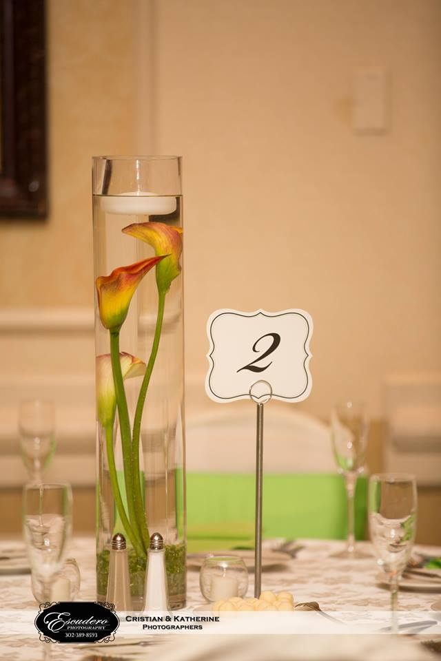 Escudero Hilton Christiana table decor