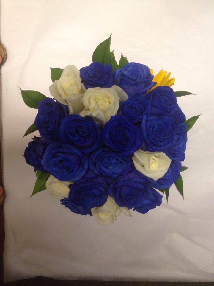 Belak blue floral