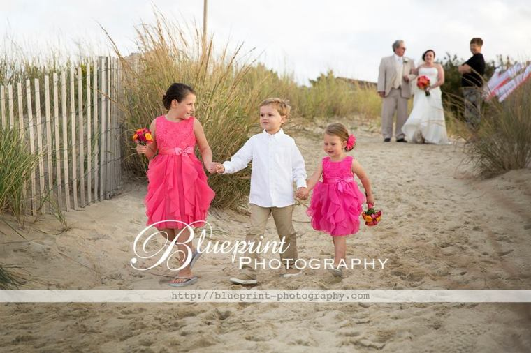 Blueprint Lewes Yacht ring bearer flower girls