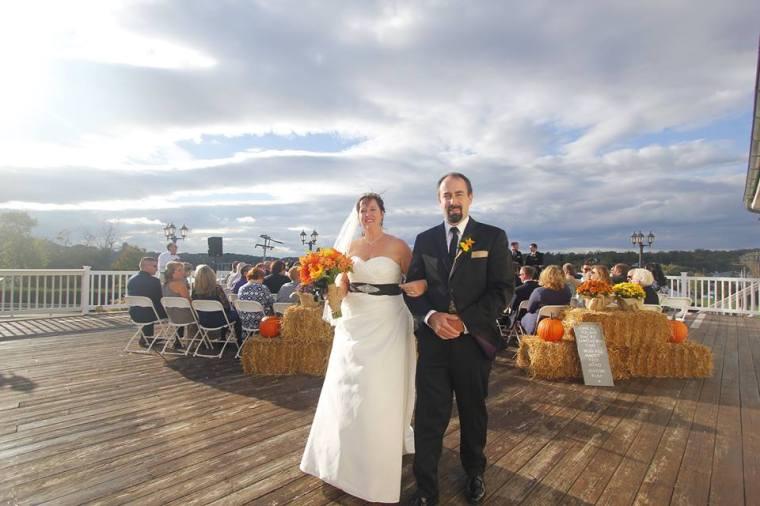 Melony wedding bride groom