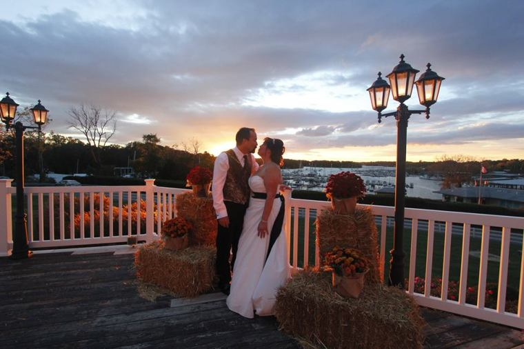 Melony wedding sunset pic