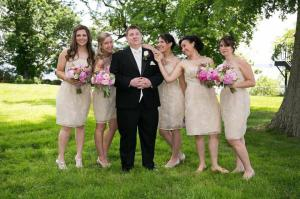Kathy Champ Photography groom and maids