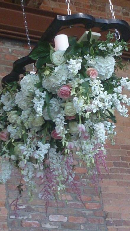 Flower Diva wow wedding ceiling piece 3