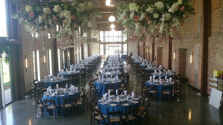 Flower Diva wow wedding reception decor