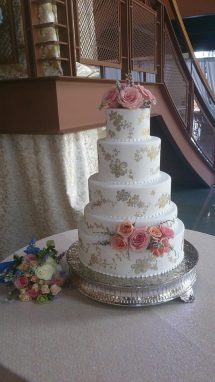 Flower Diva wow wedding wedding cake 2
