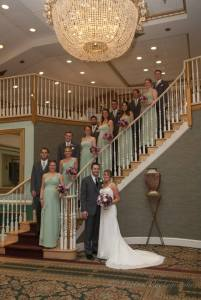 linton mendenhall bridal party