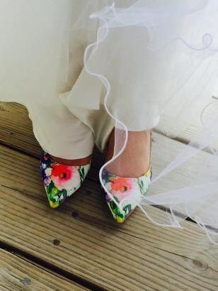 Dover and elevee nautical wedding shoes