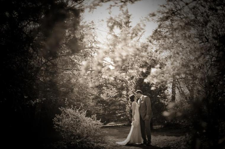Kerry Harrison couple sepia