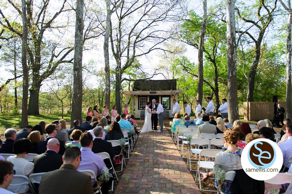 Nassau Purple And White Sam Ellis Ceremony