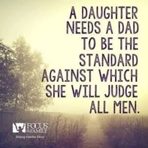A Daughter and father