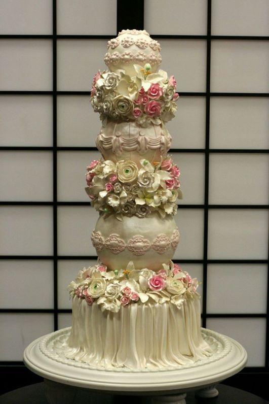 Desserts by Dana wedding cake gorgeous