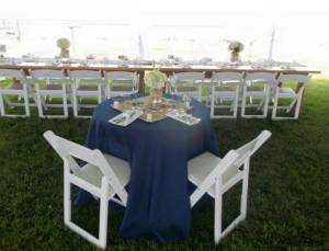 Dover Rent Ferry bridal table