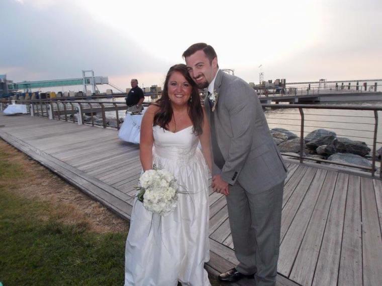 Dover Rent Ferry bride groom