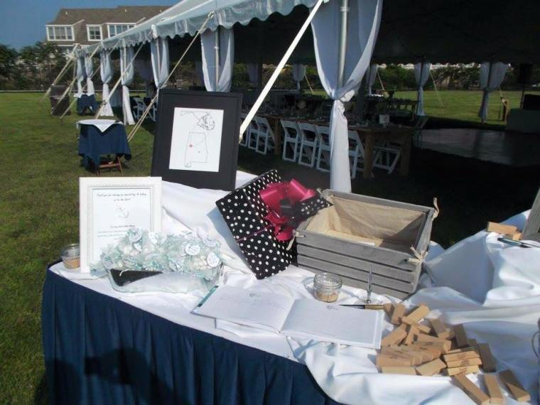 Dover Rent ferry gift table
