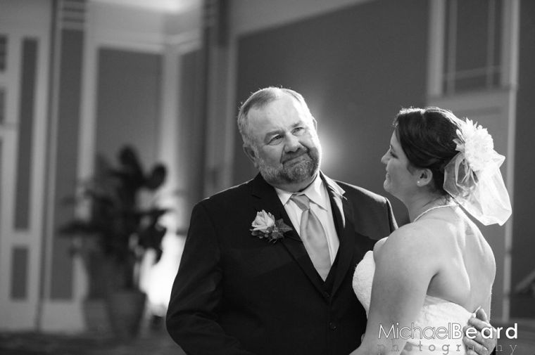 Heritage Shores Beard wedding father daughter