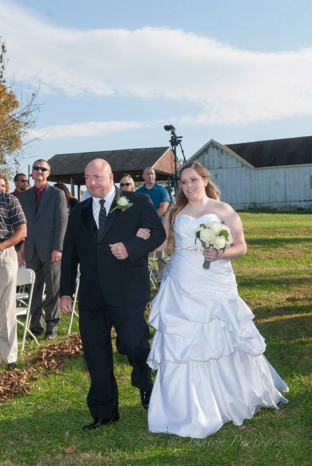 Linton Photography hawk wedding father bride