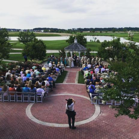 Heritage Shores summer ceremony view