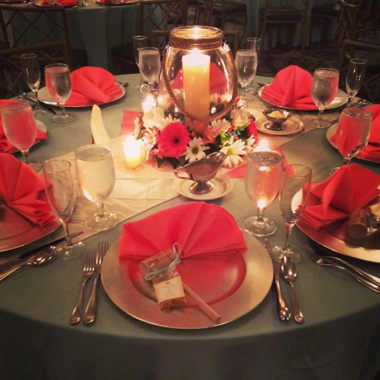 Heritage Shores table scape