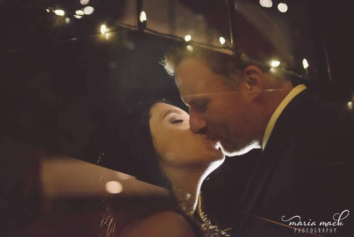 Hagley wedding fairy tale kiss