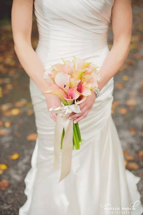 Hagley wedding fairytale bouquet and dress