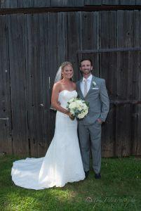 Linton vineyard bride groom barn wall