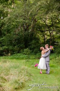 Foschi summer field wedding pop foot