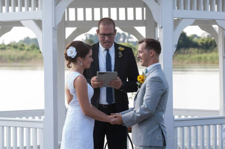 Linton Thousand Acre Wedding ceremony