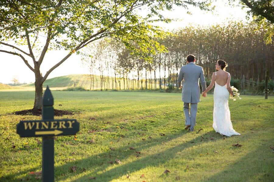 Nassau Valley Vineyard Wedding Lewes Delaware Laura Coe