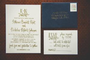 World Cafe BG wedding Invitations