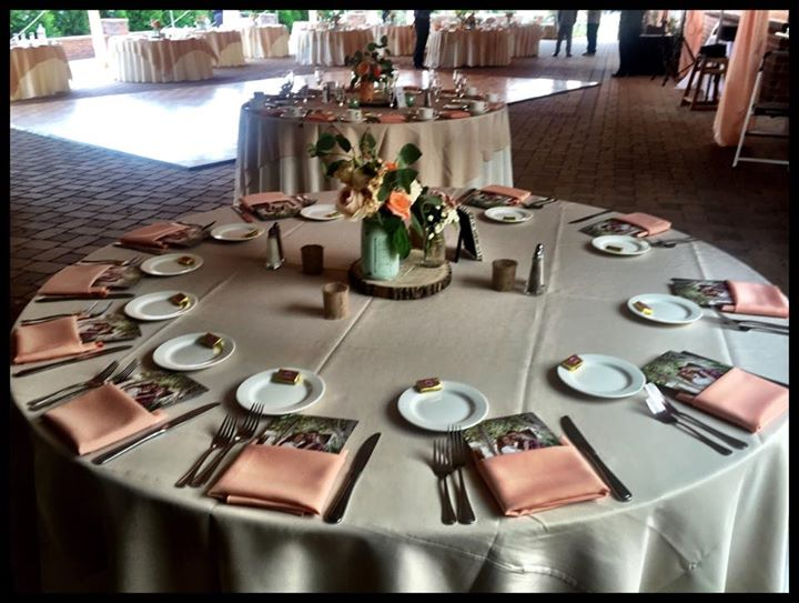 Executive Wedding table scape