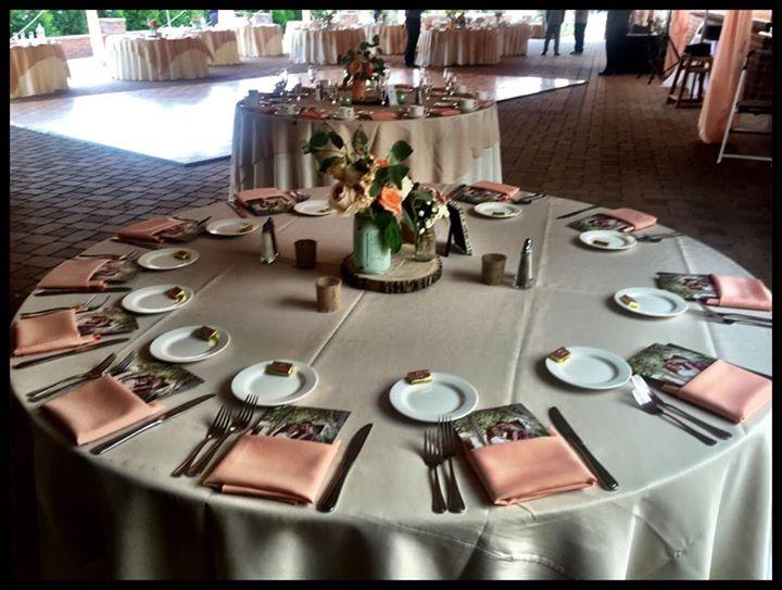 Executive Wedding table scape