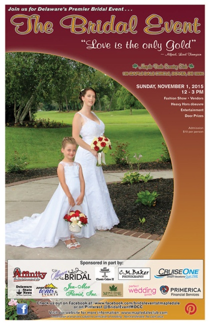 Maple Dale Bridal Show Nov 1 2015