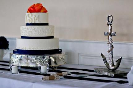 Irish Eyes Dover Rent Nautical Wedding cake