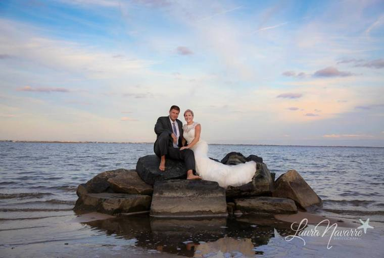 Irish Eyes Dover Rent Nautical Wedding ocean shot