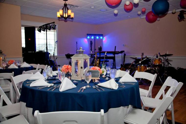 Irish Eyes Dover Rent Nautical Wedding reception room