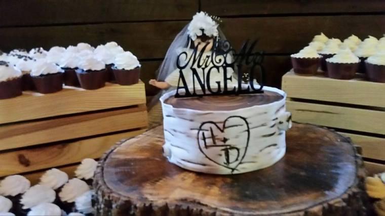 Memorable Events church wedding cake