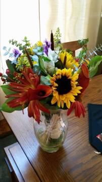 Memorable Events church wedding flowers