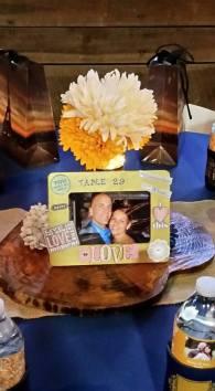 Memorable Events church wedding table decor