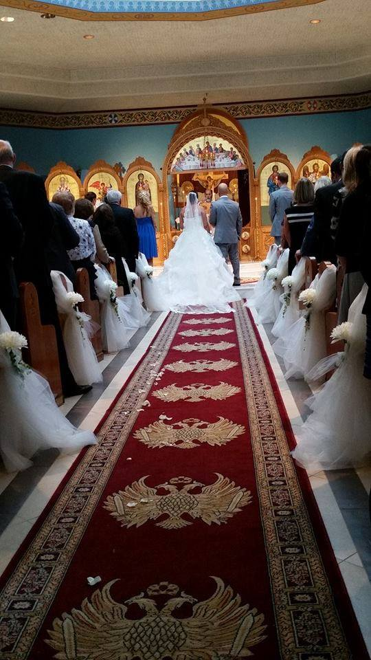 Memorable Events church wedding
