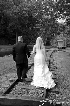 Foschi Hagley wedding railroad
