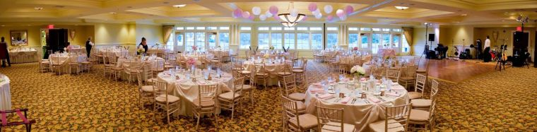 Baywood Greens panoramic ballroom kam photography