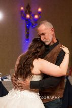 Blueprint cowboy wedding white clay creek father daughter dance