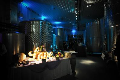 Kerry winery valenzao reception Love