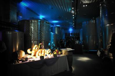 Kerry winery valenzao reception Love