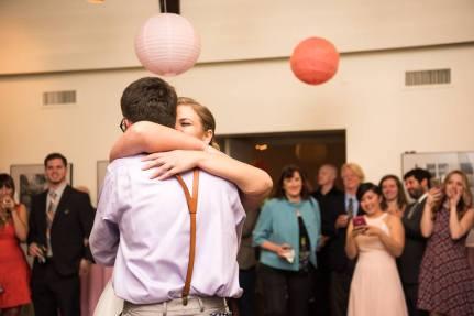 Hagley Fantail First Dance sweet hug